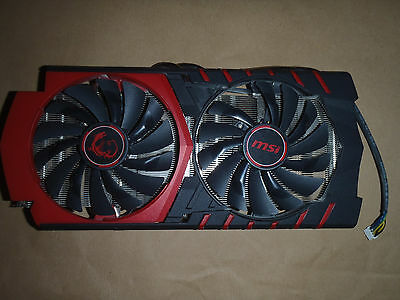 MSI NVIDIA GeForce GTX 980 Ti GTX980TIGAMING6G COOLER ONLY SPARE FAN