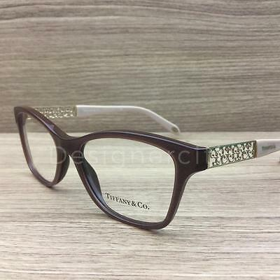 Tiffany & Co. TF 2130 Eyeglasses Brown Nude 8210 Authentic 52mm