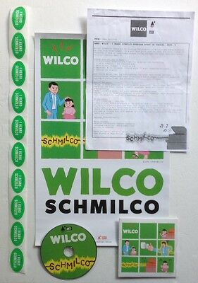 WILCO I Heard Schmilco PROMO CD Stickers POSTER Letter PROMOTIONAL Jeff TWEEDY