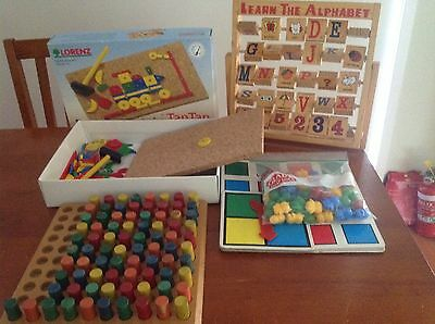 Children's Educational Wooden Puzzles And Games