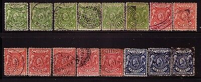 BRITISH EAST AFRICA.... 1896  x16 used to 2½a