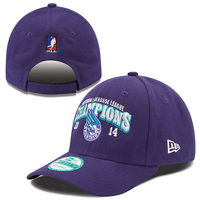 NEW ERA Rochester Knighthawks hat cap adjustable 2014 NLL Lacrosse Champions Cup