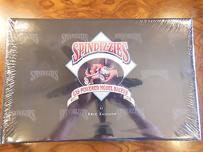 New Spindizzies Gas Powered Model Racers-Eric Zausner Tether Car Book + Poster!