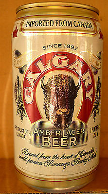 Collectable beercans - Calgary Amber Lager Beer (Canadian 750ml aluminium can)