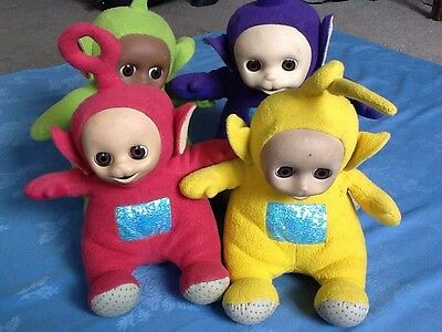 Vintage and Rare Interactive Teletubbies Set