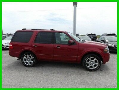 2013 Ford Expedition Limited 2013 Limited Used Certified 5.4L V8 24V Automatic 4WD SUV Premium