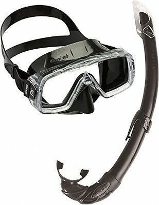Cressi PRIME, Adult Mask Snorkel Set, Made In Italy
