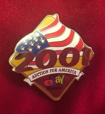 Ebay Live Collectible 2001 AUCTIONS FOR AMERICA 10 YEARS