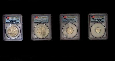 2008 Complete Platinum Eagle First Strike Set PCGS Graded MS70- 4 Coin Set