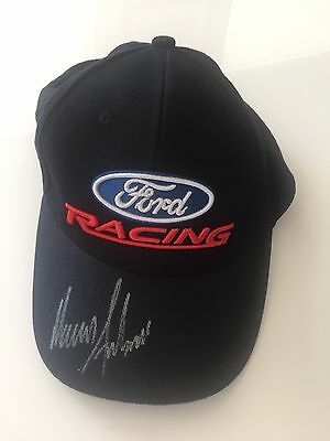 """Ford Racing """"Winners Circle"""" Cap Signed By Marcos Ambrose"""