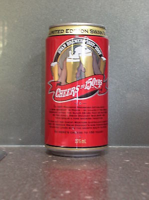 375Ml Wa Swan Draught - Cheers To 150 Years - Beer Can
