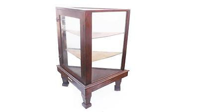 Victorian Small Shop Three Sided  Counter Display Cabinet