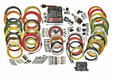 american autowire highway 22 complete wiring harness kit • 436 17 american autowire highway 15 circuit nostalgia wiring harness kit 500944