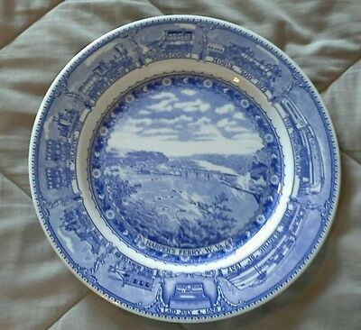 Baltimore & Ohio Centenary Pattern Dinner Plate From Syracuse China RRBS