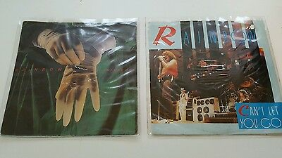 "Rainbow 2 X 7""singles ( Picture Sleeves )"