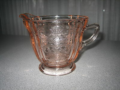 Indiana Glass Recollection Pink Creamer