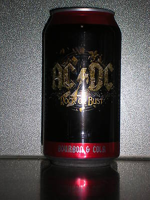 """375Ml """"acdc"""" Rock Or Bust Bourbon & Cola Can"""