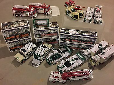Lot 20 HESS TRUCKS and accessories, 2000-2010 Collection