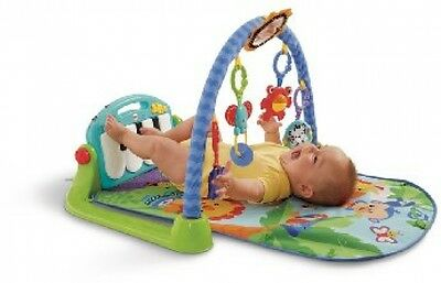 New Baby Portable Soft Toys Sit Fisher-Price Kick and Play Piano Gym