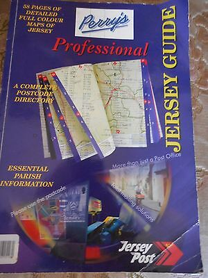 rare perrys professional jersey guide map book