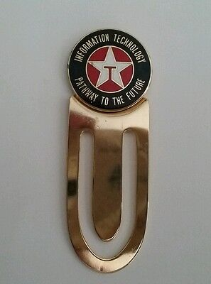 TEXACO information technology  pathway to the future bookmark