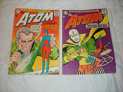 The Atom #13 and #16 Gil Kane!! Gardner Fox!!