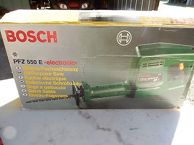 BOSCH  All Purpose Saw  with 13 spare blades