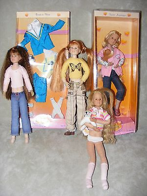 ** Only Hearts Club Doll * Plus Outfit NIP * 3 Loose Dolls **