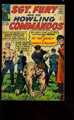 Sgt Fury and His Howling Commandos 5 - Large Scans