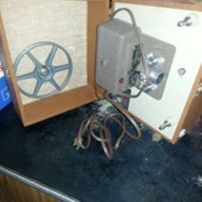 Vintage Keystone Sixty 8mm Film Projector (NOT TESTED)