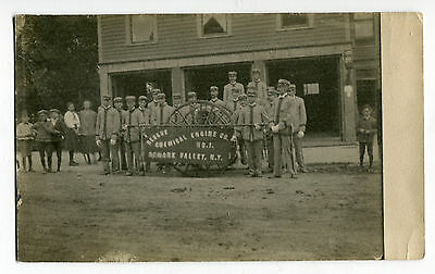Early RPPC Rescue Chemical Fire Engine Co. # 1 Newark Valley NY Fire Fighting FD