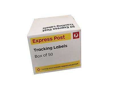 Australia Express Post Tracking Labels -Box of 50 + 1 Free Labels