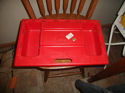 lego tray table travel red lap