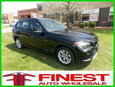 2013 BMW X1 xDrive28i BLACK PANORAMIC ROOF COLD WEATHER PKG 2013 BMW X1 xDrive28i BLACK PANORAMIC ROOF COLD WEATHER PKG 29K MILES AWD