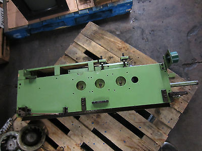 Maho Mh600T Cnc Horizontal Mill Spindle Head Unit Mh-600T