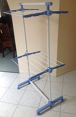 Clothes Horse Dryer - Portable Airer Laundry Drying Hanging Rack