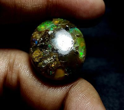 A grade OPAL TRIPLET CABOCHON FOR JEWELRY PENDANT OR RING 20.50 .cts