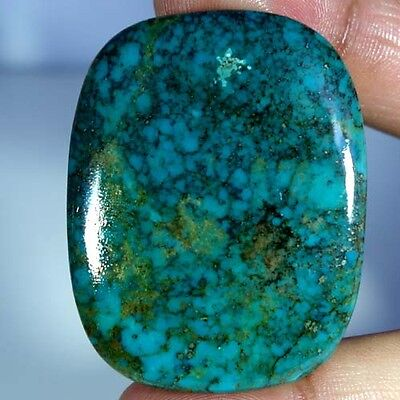 116.65Cts. AAA 100% NATURAL UNTREATED TIBET TURQUOISE CUSHION CABOCHON GEMSTONES
