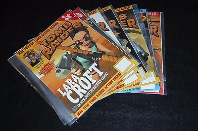 Tomb Raider: The Official Magazine (2001) # 1-8