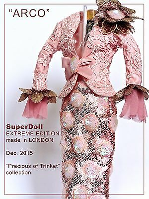 """Superdoll Sybarite """"ARCO"""" 2015 EXTREME EDITION SALON outfit --- MINT"""