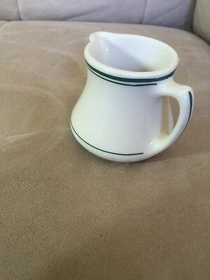 "SYRUP PITCHER INDIAN Shenango China Creamer 2.75"" restaurant ware OLD"