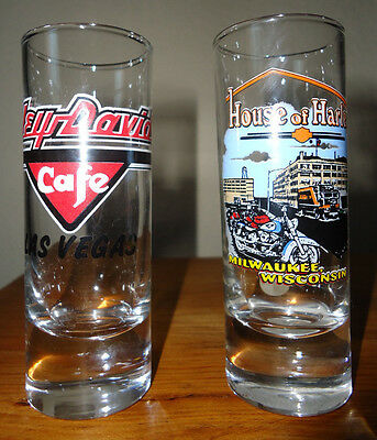 Pair of HARLEY DAVIDSON Double Shot glasses