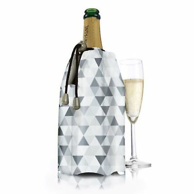 NEW VACU VIN ACTIVE CHAMPAGNE COOLER Vacuvin Chill Chiller Cool Wine DIAMOND