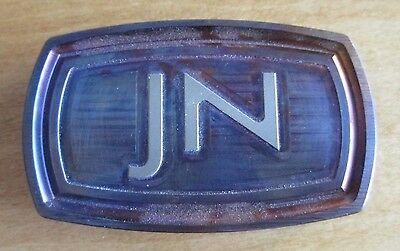 James Neil Stainless Belt Buckle Brand New! USA  DASS