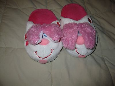 Stompeez slippers Perky Pink Puppy kids large