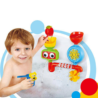 Bath Toys Water Faucet Taps Spout Spray Shower Water Play For Kids Baby