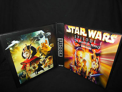 Custom Star Wars The Phantom Menace Widevision Trading Card Binder Graphics Only