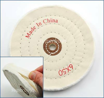 150mm Cloth Polishing Buffing Wheel Cleaning Pad Power Angle Bench Grinder Tool