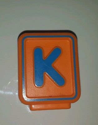 Vtech Replacement Block Letter K Kite Alphabet Train Sit to Stand