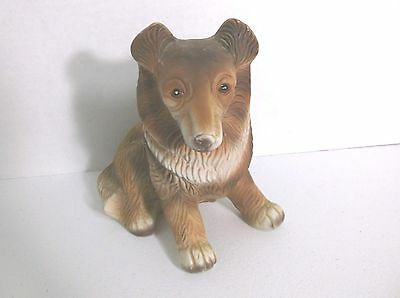 JJ 5000 Series  Figurine Dog  6 1/2 Inches High Vintage